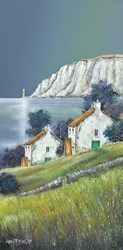 White Cliff Light by John Mckinstry -  sized 12x24 inches. Available from Whitewall Galleries