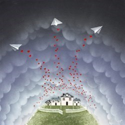 Twilight Messengers by Chloe Nugent -  sized 20x20 inches. Available from Whitewall Galleries