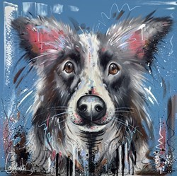 Loyal Friend by Samantha Ellis -  sized 30x30 inches. Available from Whitewall Galleries
