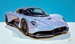2020 Aston Martin Valhalla by Roz Wilson -  sized 40x24 inches. Available from Whitewall Galleries