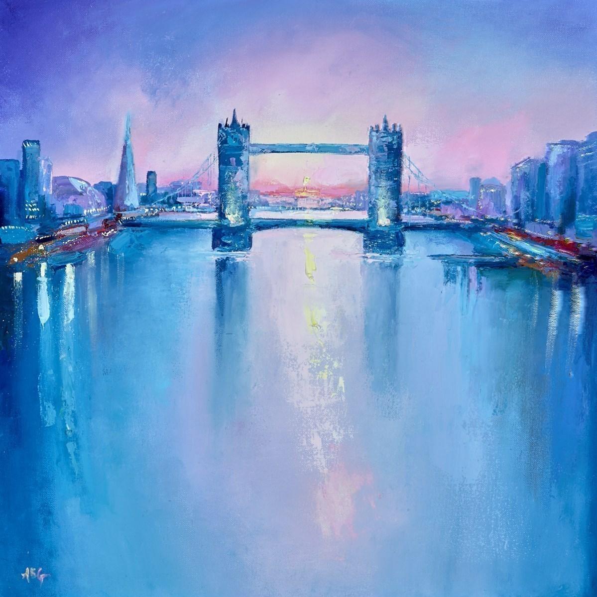 Tower Bridge Sunset VI