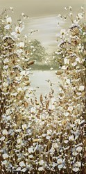 Countryside Wild Flowers III by Mary Shaw -  sized 12x24 inches. Available from Whitewall Galleries