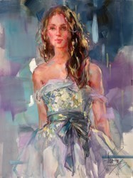 Perfect Stranger by Anna Razumovskaya -  sized 18x24 inches. Available from Whitewall Galleries
