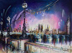 London Lights by Samantha Ellis -  sized 40x30 inches. Available from Whitewall Galleries