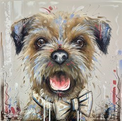 Suited and Booted by Samantha Ellis -  sized 30x30 inches. Available from Whitewall Galleries