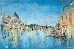 Summer in Venice by Mark Curryer -  sized 36x24 inches. Available from Whitewall Galleries