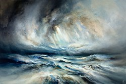 Ocean Sense by Chris and Steve Rocks -  sized 47x32 inches. Available from Whitewall Galleries