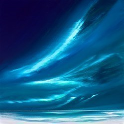 Bright Aurora V by Jonathan Shaw -  sized 24x24 inches. Available from Whitewall Galleries