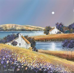 Moon Light by John Mckinstry -  sized 16x16 inches. Available from Whitewall Galleries