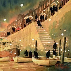 Fishing Trip by Peter J Rodgers -  sized 20x20 inches. Available from Whitewall Galleries