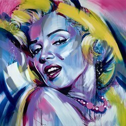 Hollywood by Jen Allen -  sized 48x48 inches. Available from Whitewall Galleries