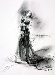 Connection IX by Anna Razumovskaya -  sized 15x20 inches. Available from Whitewall Galleries