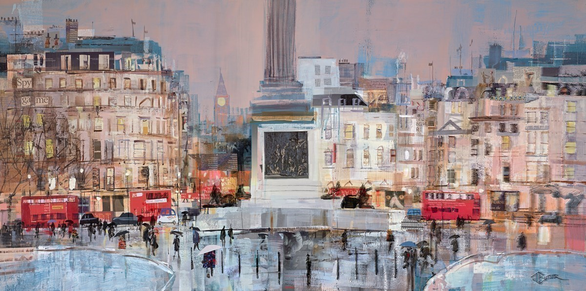 Pride of Place by Tom Butler -  sized 48x24 inches. Available from Whitewall Galleries