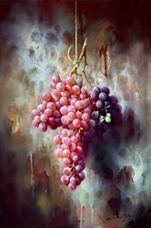 Uvas Rojas IV by J M Reyes -  sized 16x24 inches. Available from Whitewall Galleries