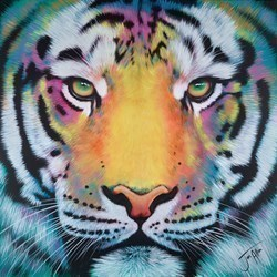 Spirit by Jen Allen -  sized 40x40 inches. Available from Whitewall Galleries