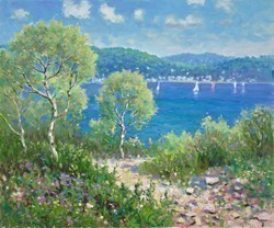 Ibiza by James Preston -  sized 24x20 inches. Available from Whitewall Galleries