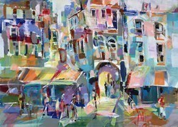 Passage by Marijus Jusionis -  sized 28x20 inches. Available from Whitewall Galleries