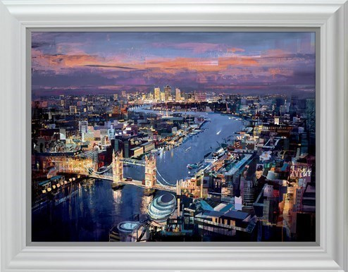 London Calling by Tom Butler - Framed Limited Edition on Paper