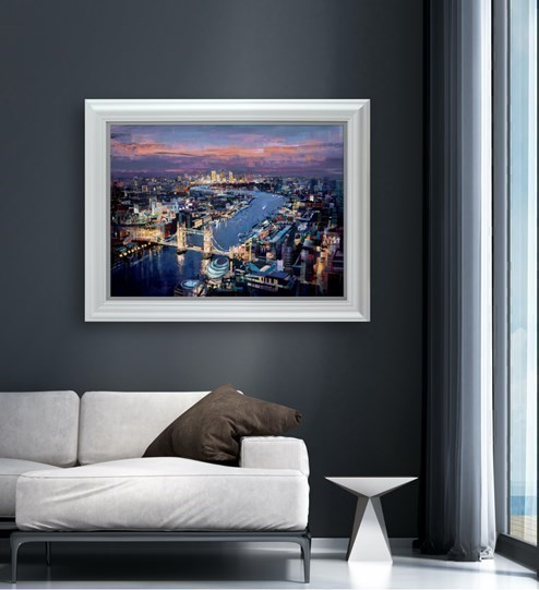 London Calling by Tom Butler - Limited Edition on Paper wall setting