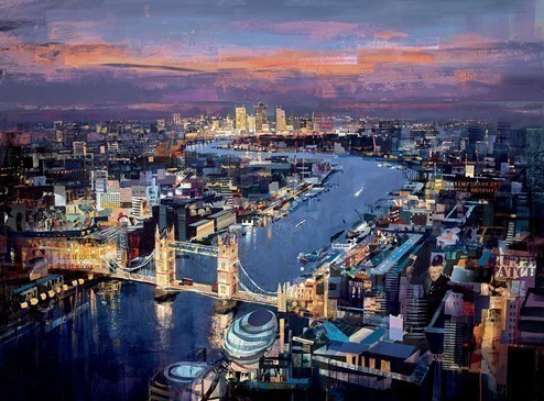 London Calling by Tom Butler - Limited Edition on Paper