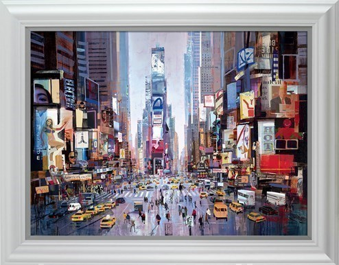 Shine of the Times by Tom Butler - Framed Limited Edition on Paper