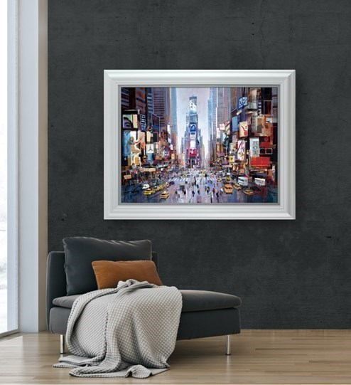 Shine of the Times by Tom Butler - Limited Edition on Paper wall setting