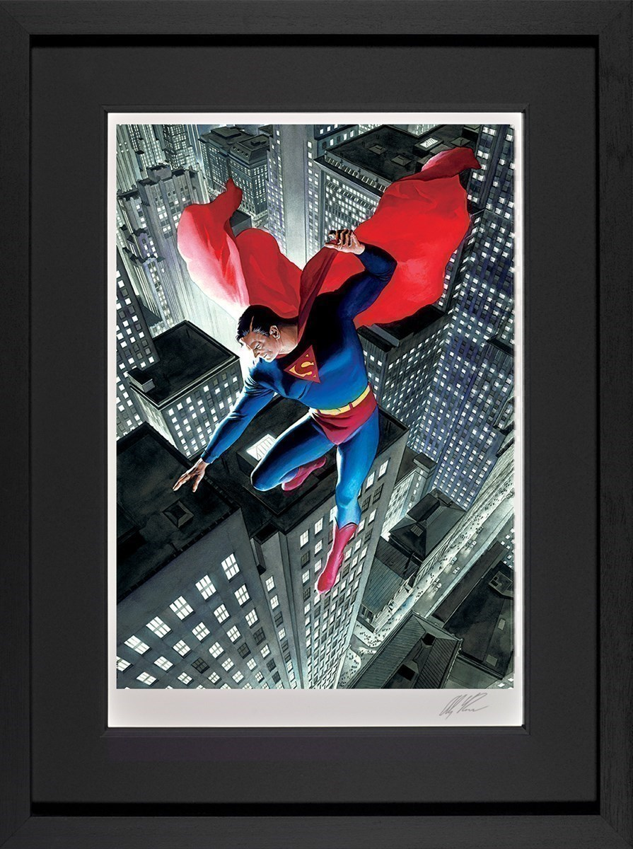 Superman Twentieth Century by DC - Framed Limited Edition on Paper