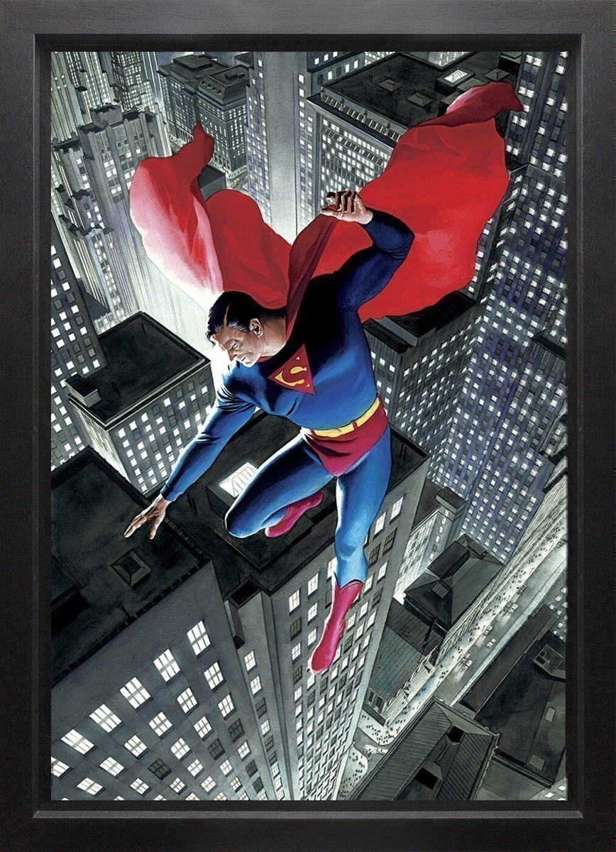 Superman Twentieth Century (Box Canvas) by DC - Framed Box Canvas