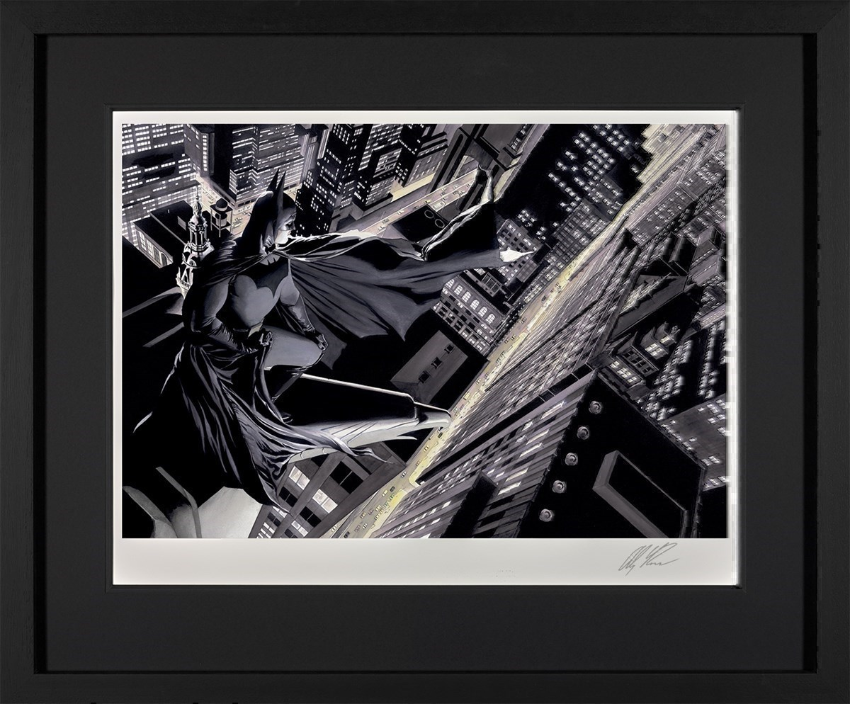 Batman: Knight Over Gotham by DC - Framed Limited Edition on Paper