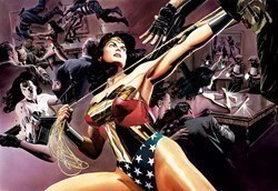 Wonder Woman: Defender Of Truth by DC - Limited Edition on Paper sized 26x18 inches. Available from Whitewall Galleries