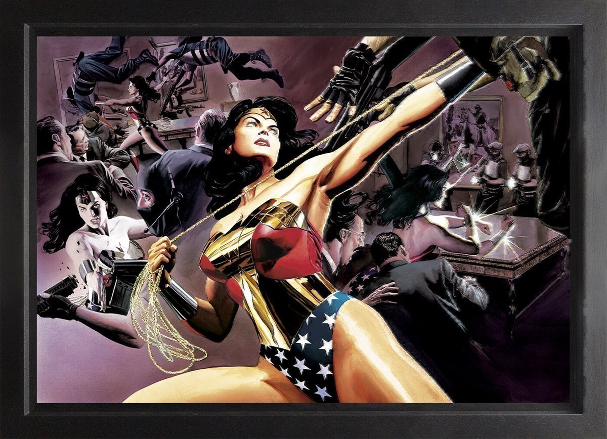 Wonder Woman: Defender Of Truth (Box Canvas) by DC - Framed Box Canvas