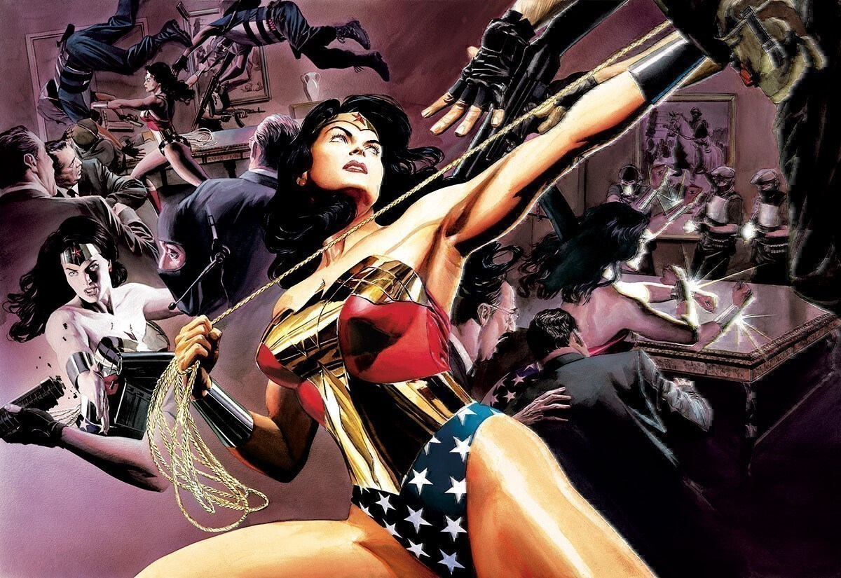 Wonder Woman: Defender Of Truth (Box Canvas Deluxe) by DC - Box Canvas Deluxe