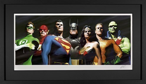 Original Seven by DC - Framed Limited Edition on Paper