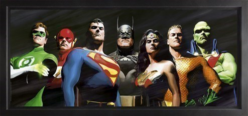 Original Seven (Box Canvas Deluxe) by DC - Framed Box Canvas Deluxe