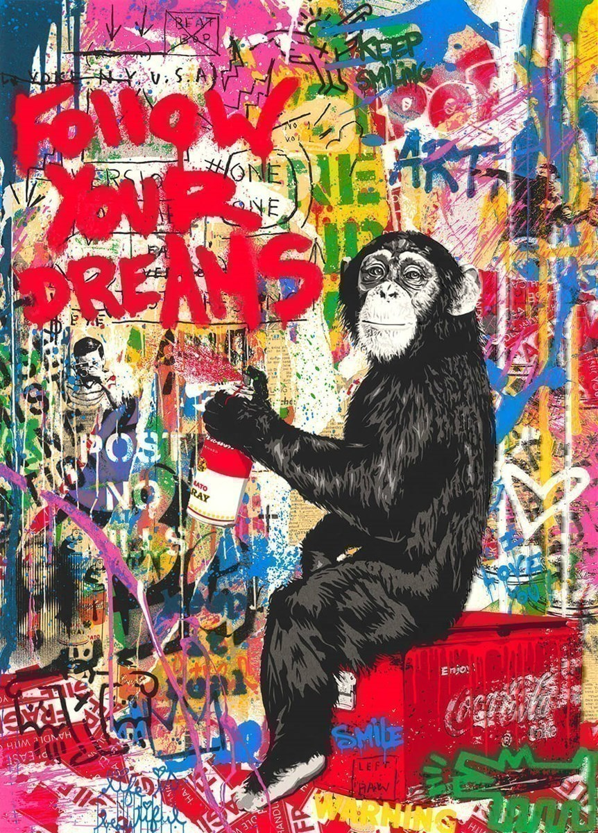 Iconic by Mr Brainwash - Limited Edition on Paper