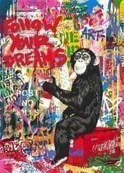 Iconic by Mr Brainwash - Limited Edition on Paper sized 22x30 inches. Available from Whitewall Galleries