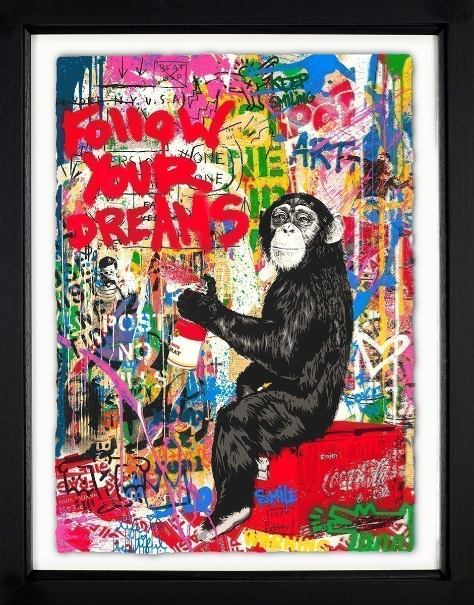 Iconic by Mr Brainwash - Framed Limited Edition on Paper