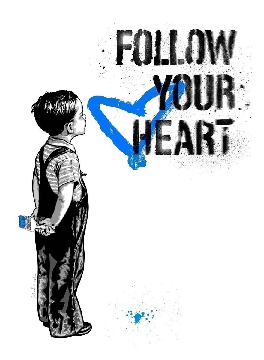 Follow Your Heart - Blue