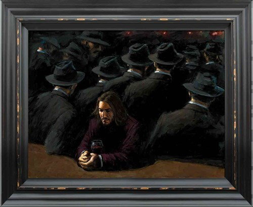 Image: Untitled II Young by Fabian Perez | Limited Edition on Canvas