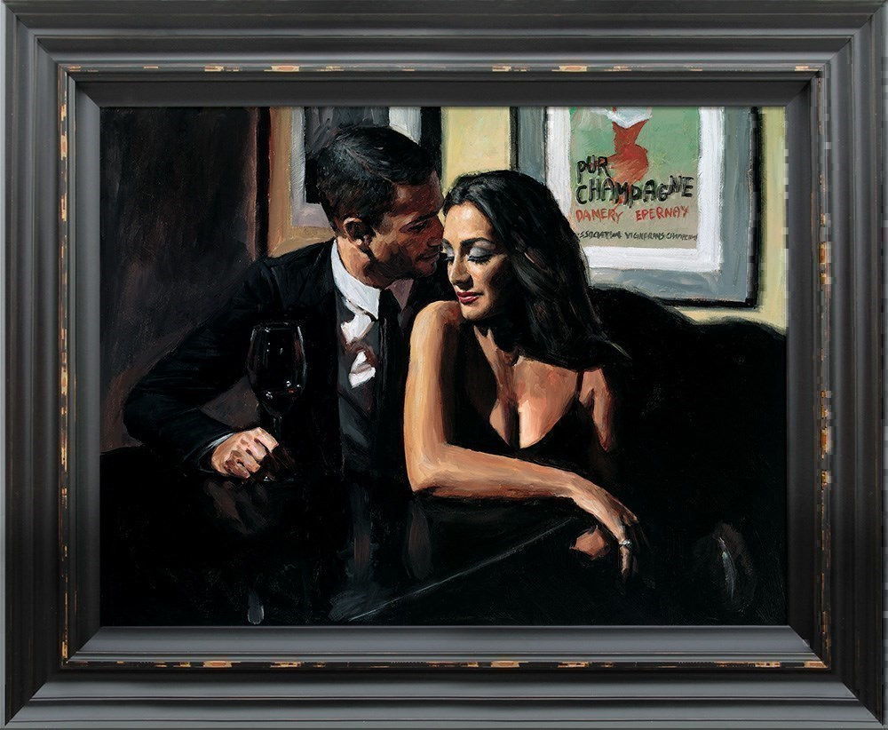 Proposal at Hotel Du Vin by Fabian Perez - Hand Finished Limited Edition on Canvas sized 24x18 inches. Available from Whitewall Galleries