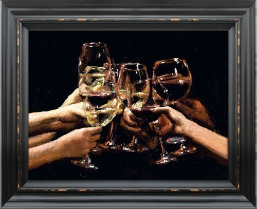 Image: For a Better Life IX by Fabian Perez   Embelished Canvas on Board