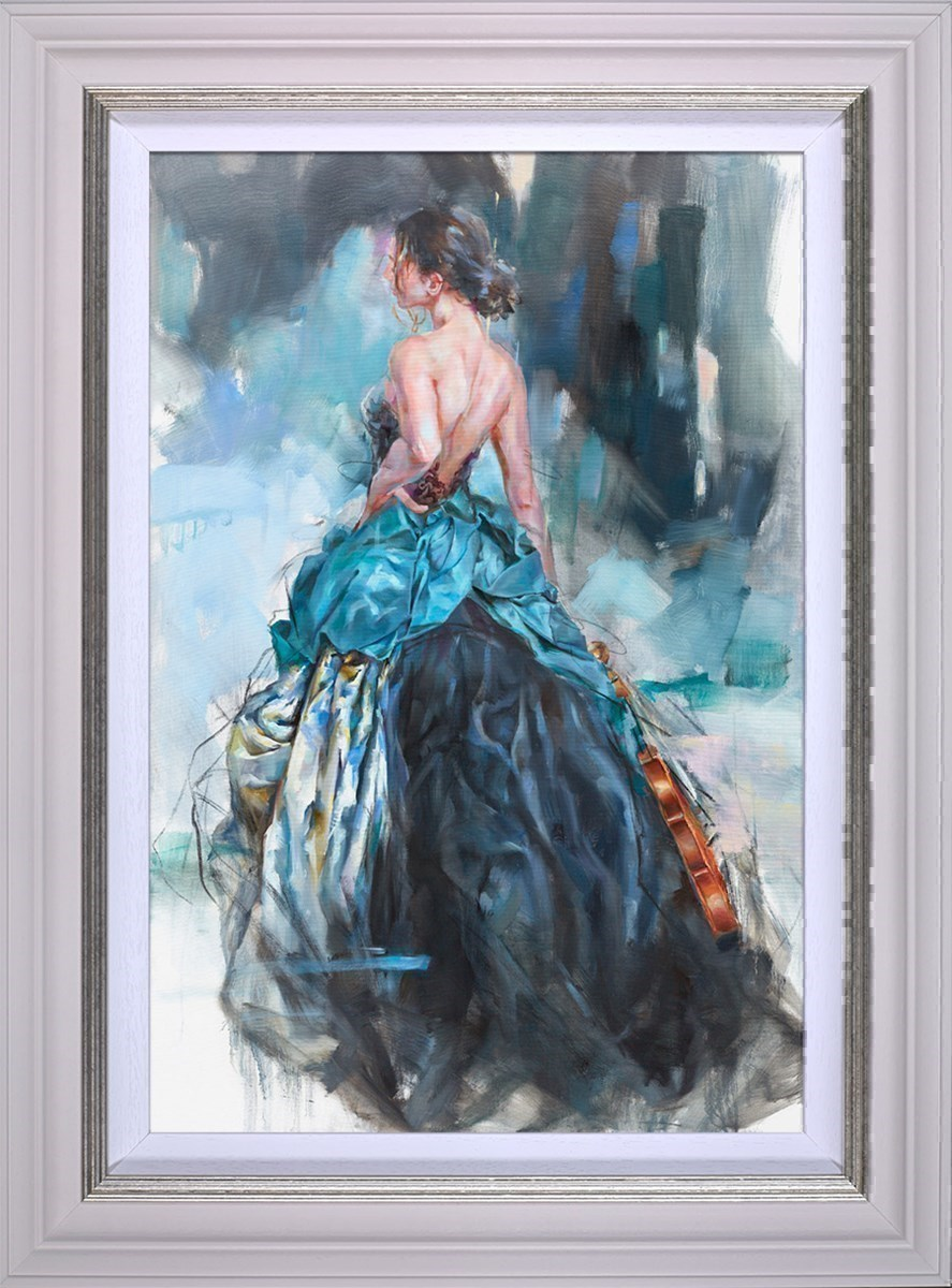Woven Dreams II by Anna Razumovskaya - Stretch Canvas sized 18x27 inches. Available from Whitewall Galleries