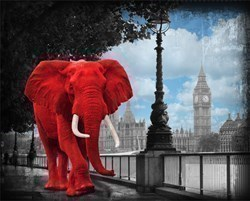 Westminster Wanderer by Lars Tunebo - Paper On Board sized 25x20 inches. Available from Whitewall Galleries