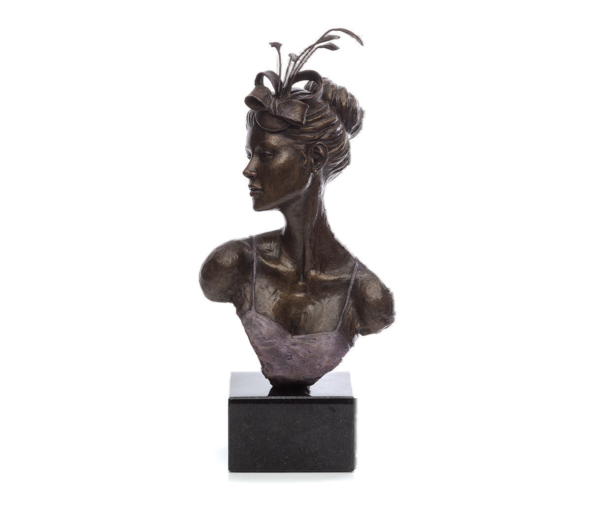 Ascot Vision by Sherree Valentine Daines - Bronze Sculpture sized 6x12 inches. Available from Whitewall Galleries