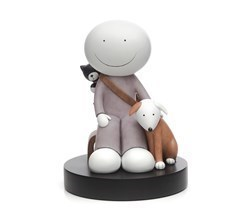 The Great Outdoors by Doug Hyde - Cold Cast Porcelain sized 7x10 inches. Available from Whitewall Galleries