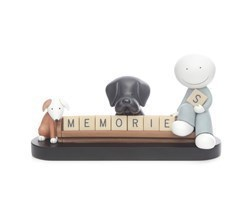 Memories by Doug Hyde - Cold Cast Porcelain sized 12x5 inches. Available from Whitewall Galleries