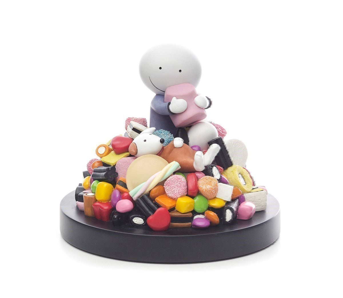 Life is Sweet by Doug Hyde - Cold Cast Porcelain sized 7x6 inches. Available from Whitewall Galleries