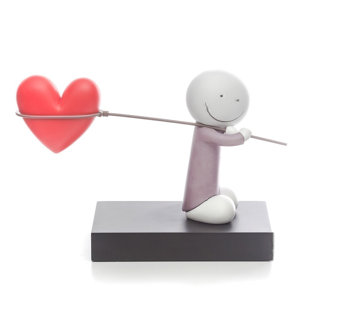 Caught Up In Love by Doug Hyde - Cold Cast Porcelain sized 12x8 inches. Available from Whitewall Galleries
