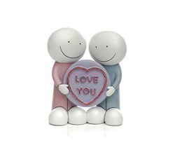 Love You Export by Doug Hyde -  sized 6x6 inches. Available from Whitewall Galleries