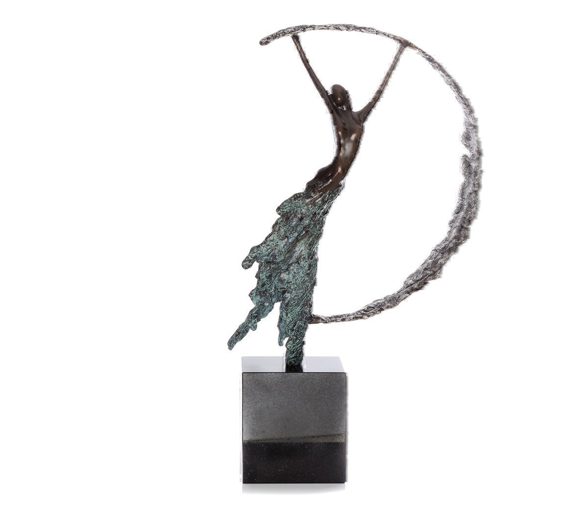 Moonlight by Jennine Parker - Bronze Sculpture sized 12x19 inches. Available from Whitewall Galleries
